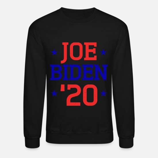 Party Hoodies & Sweatshirts - Vote Joe Biden 2020 For US President Election - Unisex Crewneck Sweatshirt black