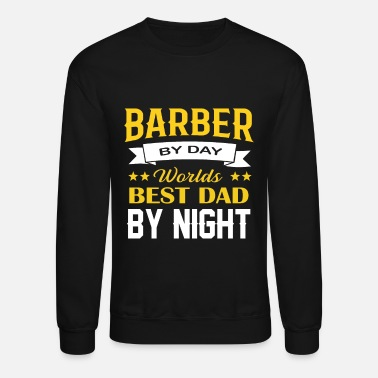 Barber Haircut Beard Moustache Haircutter Gift - Unisex Crewneck Sweatshirt
