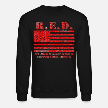 Troops Red Friday Wear Red On Friday - Crewneck Sweatshirt