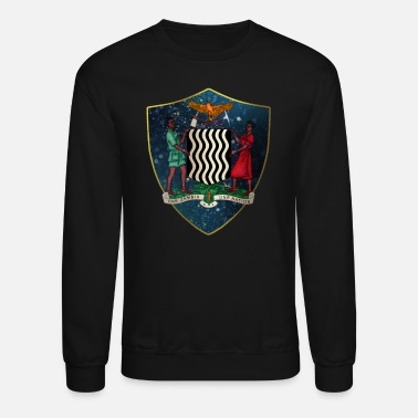 Zambia Zambia Coat of Arms - Unisex Crewneck Sweatshirt
