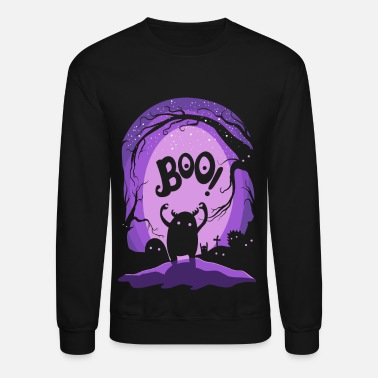 Halloween Magic night - Unisex Crewneck Sweatshirt
