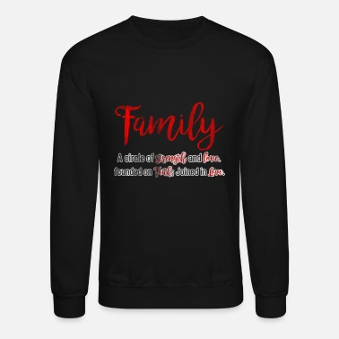 Family Values Family Values - Unisex Crewneck Sweatshirt