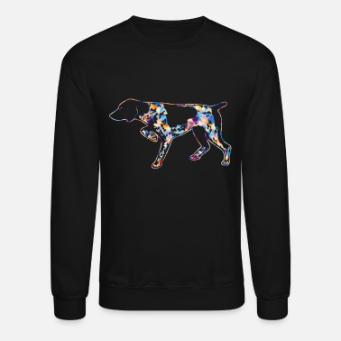 German Shorthaired Pointer German Shorthair Pointer Shirts - Crewneck Sweatshirt