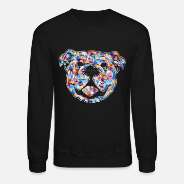 Bulldog Old English Bulldog Shirt - Crewneck Sweatshirt