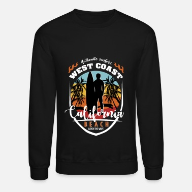 West Coast Kid West Coast California Beach - Unisex Crewneck Sweatshirt