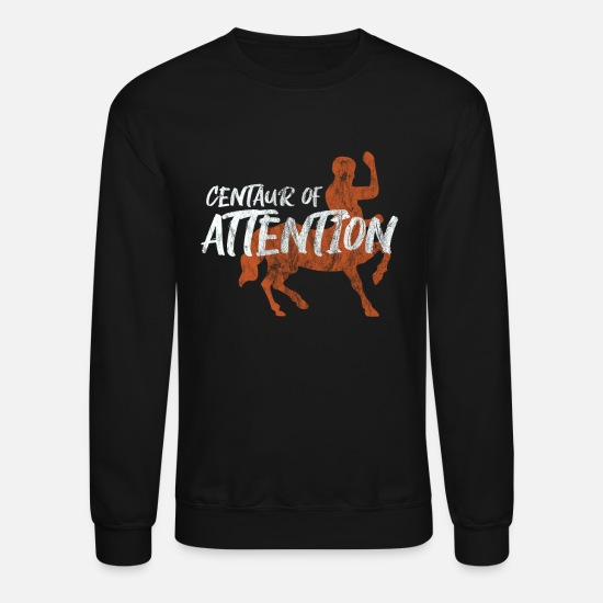 Mythology Hoodies & Sweatshirts - Centaur centaurus Greek Mythology Gift - Unisex Crewneck Sweatshirt black