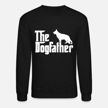 German The Dogfather German - Unisex Crewneck Sweatshirt