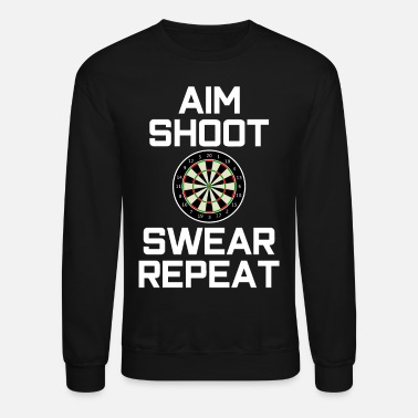 Dart Darts Darter dart board arrow - Crewneck Sweatshirt
