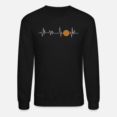 Heartbeat Basketball - Unisex Crewneck Sweatshirt 8d14eda33
