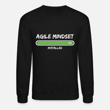 Product Scrum Agile Mindset Installed Project Management - Unisex Crewneck Sweatshirt