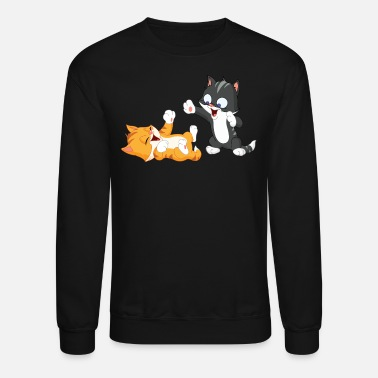 Playful PLAYFUL KITTIES - Unisex Crewneck Sweatshirt