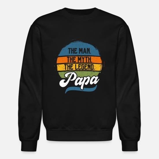 Papa The Man The Myth The Legend Sweatshirt Hoodie Hooded Sweatshirts