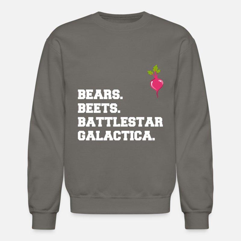 Bears Beets Battlestar Galactica Unisex Crewneck Sweatshirt