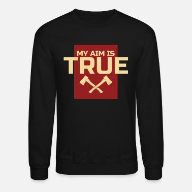 Axe Axe Throwing Gift - Unisex Crewneck Sweatshirt