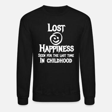 Woman Love Lost Happiness Seen For The Last Time In Childhood - Unisex Crewneck Sweatshirt