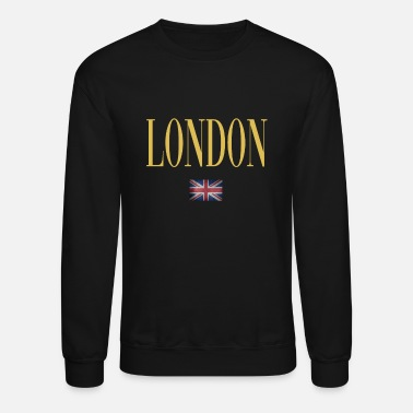 London London Gold Flag - Unisex Crewneck Sweatshirt