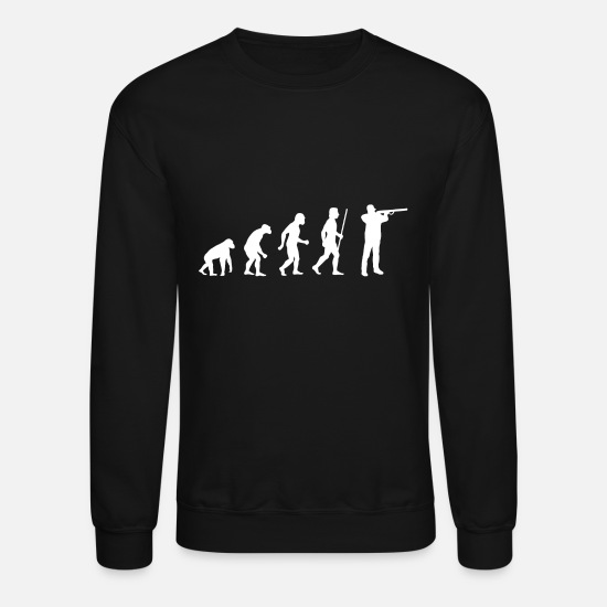Pussy Hoodies & Sweatshirts - Shooting - Evolution Shooting - Unisex Crewneck Sweatshirt black