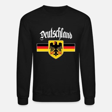 German Deutschland - German Flag Coat of Arms Eagle - Unisex Crewneck Sweatshirt