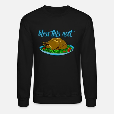 Thanksgiving Meal Funny Thanksgiving meal turkey - Unisex Crewneck Sweatshirt