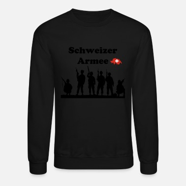 Swiss German Swiss Army in german language - Unisex Crewneck Sweatshirt