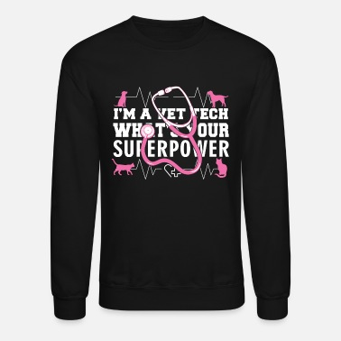Mold Vet Tech - Vet Tech Superpower - Crewneck Sweatshirt