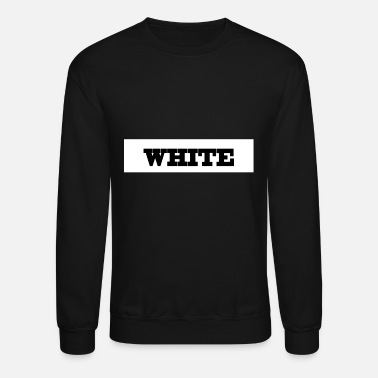 WHITE - Crewneck Sweatshirt