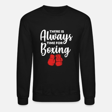Boxing Match Boxing Match Sparring Hobby Sport Boxing Gloves - Crewneck Sweatshirt