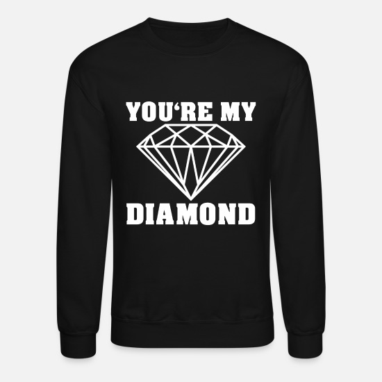 Gift Idea Hoodies & Sweatshirts - diamond - Unisex Crewneck Sweatshirt black