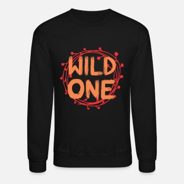 Round Birthday Wild One Basic Round - Unisex Crewneck Sweatshirt