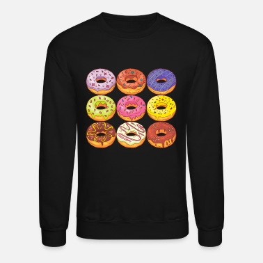 Confiserie Donuts Bakery Cookie Candy Sweets Cake Confiserie - Unisex Crewneck Sweatshirt