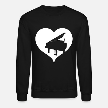 Piano Love Piano - Crewneck Sweatshirt