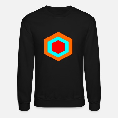 Hexagon hexagon - Crewneck Sweatshirt