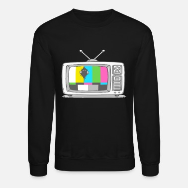 Watch Tv Watching TV - Unisex Crewneck Sweatshirt