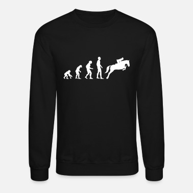 Show Jumping Evolution Show Jumping - Unisex Crewneck Sweatshirt