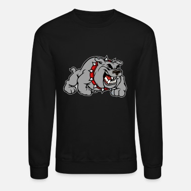 Grey bulldog grey - Unisex Crewneck Sweatshirt