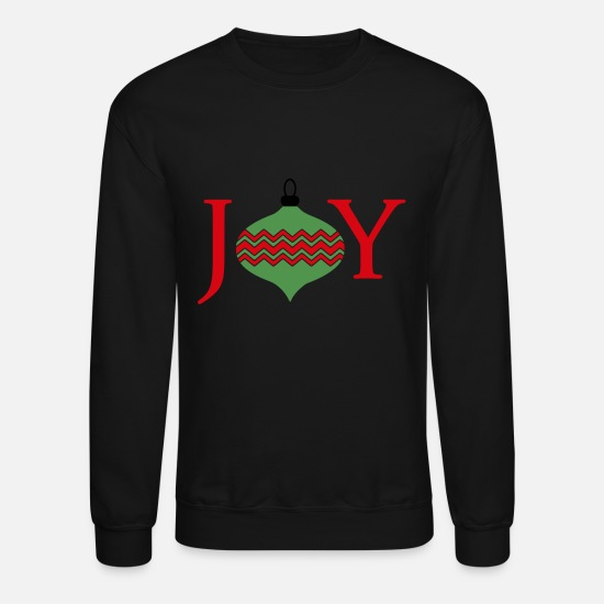 Christmas Hoodies & Sweatshirts - Christmas Joy - Unisex Crewneck Sweatshirt black