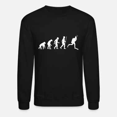 Funny Scuba Diving Scuba Diving - Evolution of Scuba Diving - Unisex Crewneck Sweatshirt