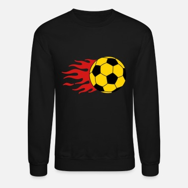 Hilarious burning ball - Unisex Crewneck Sweatshirt