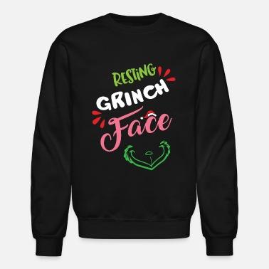 a5cb3a21caf Resting Grinch Face - Unisex Crewneck Sweatshirt