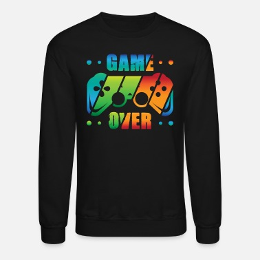 Colorcontest Controller Play Console Gamer Gaming Game over - Unisex Crewneck Sweatshirt