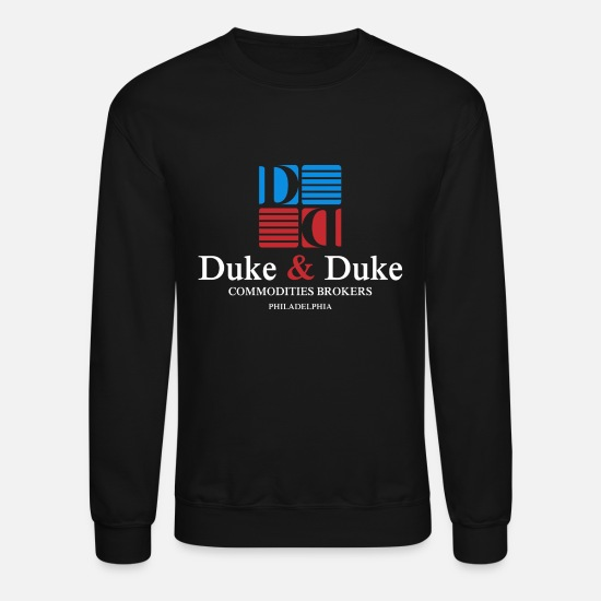 bf6debc6 Duke Hoodies & Sweatshirts - Duke Duke Philadelphia Commodities Brokers - Unisex  Crewneck Sweatshirt black