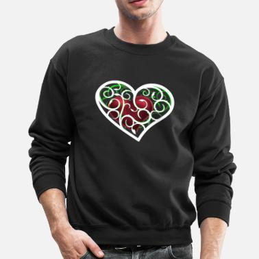 Ornament Heart ornamental - Crewneck Sweatshirt