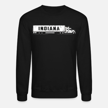 Drivers License Commercial Drivers License Indiana CDL Training Shirt - Unisex Crewneck Sweatshirt