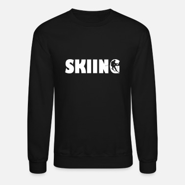 Skiing Ski Sports Winter - Crewneck Sweatshirt