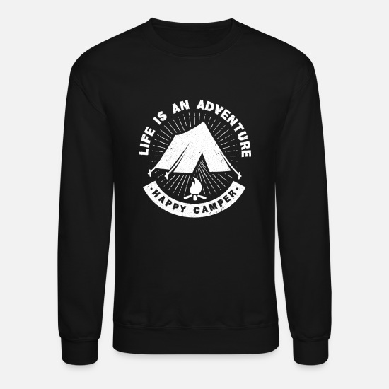 Gift Idea Hoodies & Sweatshirts - Camper - Unisex Crewneck Sweatshirt black