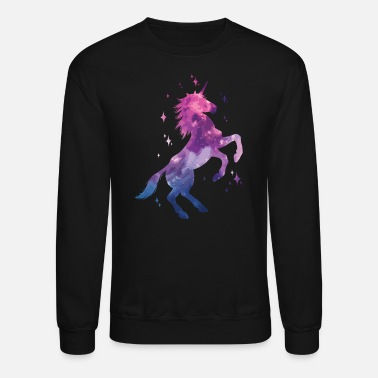Rainbow Galaxy Unicorn Galaxy unicorn - Unisex Crewneck Sweatshirt