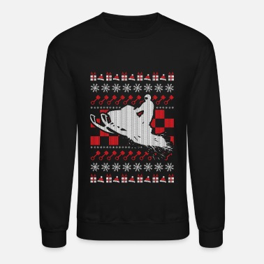 Snowmobile Ugly Christmas - Unisex Crewneck Sweatshirt