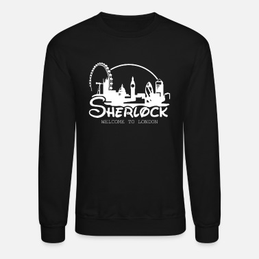 Sherlock Sherlock Welcome To London - Crewneck Sweatshirt