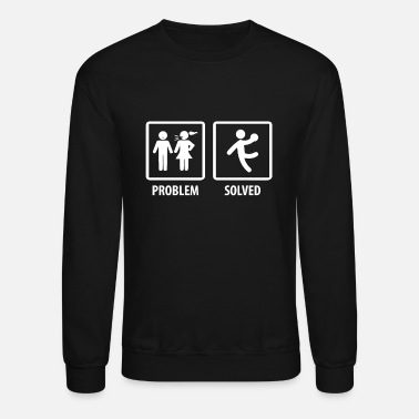 Solution Handball Problem Solution T-Shirt & Gift - Unisex Crewneck Sweatshirt