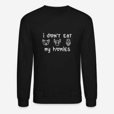 Animal Rights Animal Rights Meatless Vegan Quote Gift - Unisex Crewneck Sweatshirt